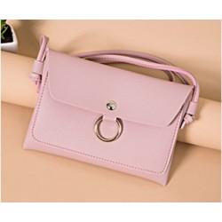 Mała torebka wizytowa - różowa
