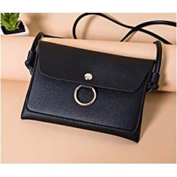 Mała torebka wizytowa - czarna