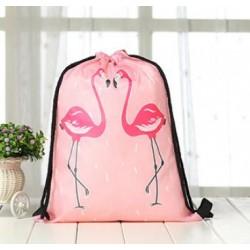 Plecak worek flaming - różowy